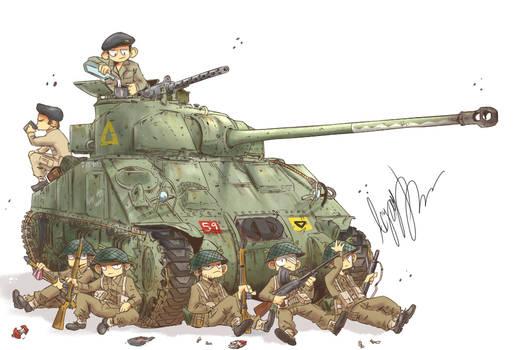 Britain's Sherman Firefly