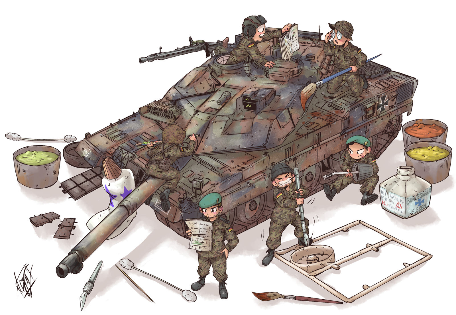 Germany's Leopard 2A7