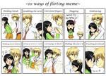 . Flirt Meme - Misaki x Usui .