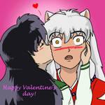 Happy Valentine's day InuKag