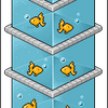 Tower O' Fish by baby-alien91