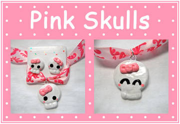 Pretty Pink Skull by aruachan