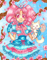 Sakura Princess Lolita by aruachan