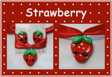 Strawberry Set by aruachan
