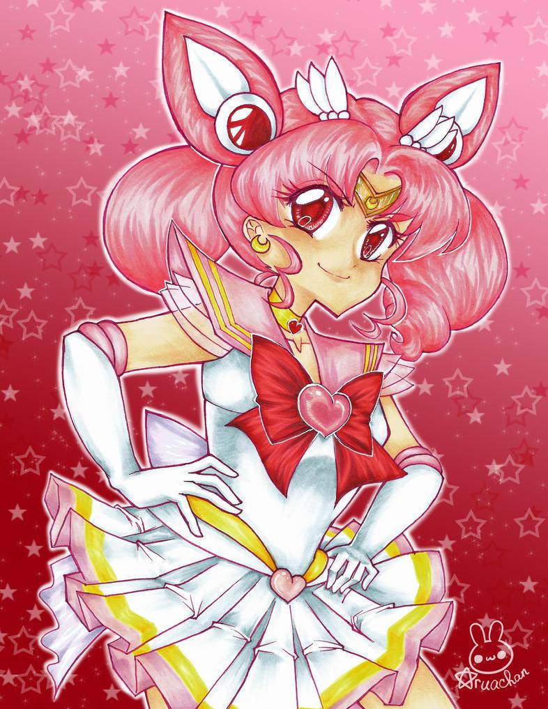 Sailor Chibi Moon by aruachan