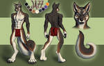 Commission: Wolfhusky dude
