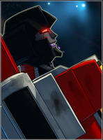 Mosaic Preview: Starscream by Pinkuh