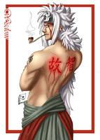 Jiraiya: Wisdom by Pinkuh