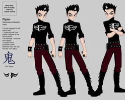 Duel Masters PS2 Model: Flynn