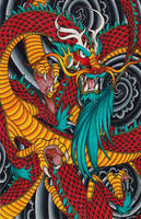 Chasing the dragon by Pinkuh