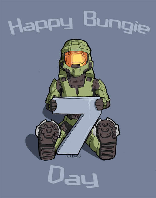 Happy Bungie Day by Pinkuh