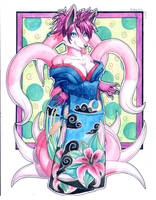 Pinkuh Watercolor by Pinkuh