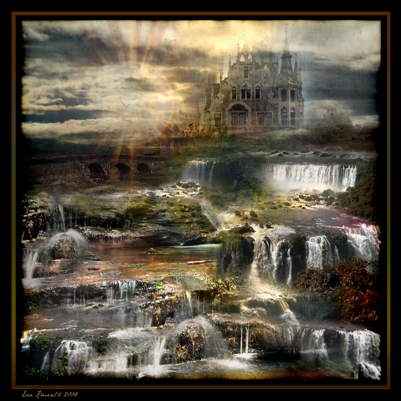 Fantasy Landscape...9 by Xantipa2-2D3DPhotoM