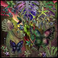 Ab10 Butterflies Garden 2 by Xantipa2-2D3DPhotoM