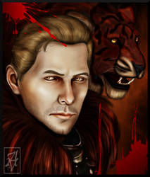 Red Lion by AuriV1
