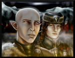 Point Commission - Tamsyn and Solas (Redo) by AuriV1