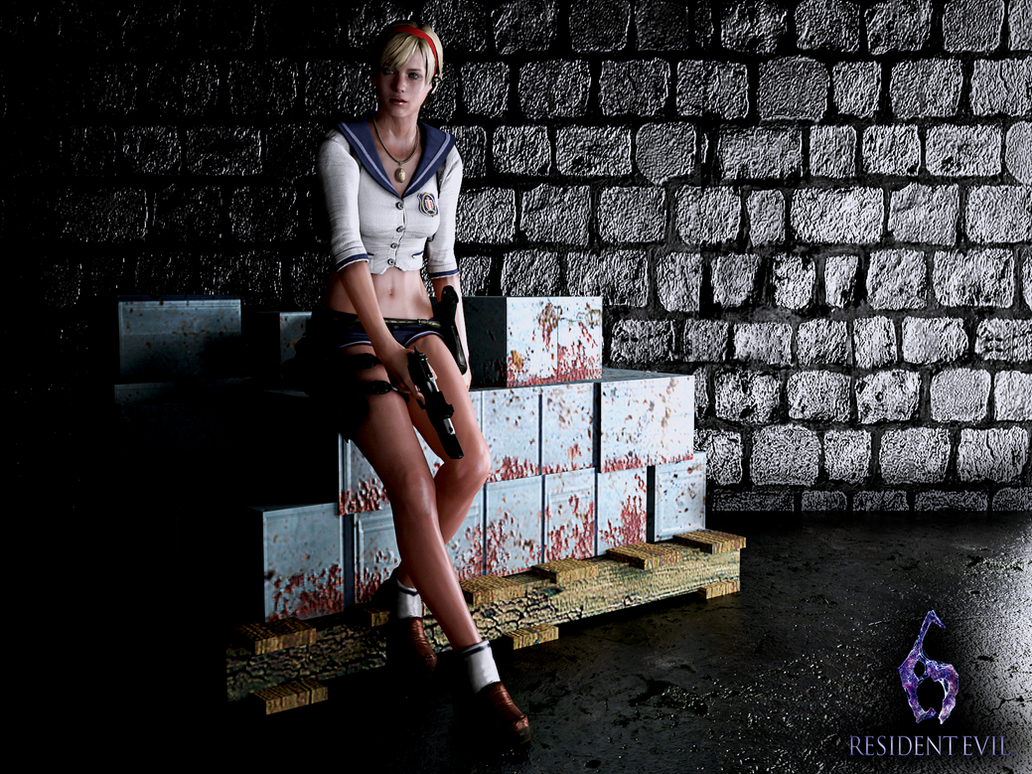 Sherry Birkin Mercenaries Costume 2 by ceriselightning