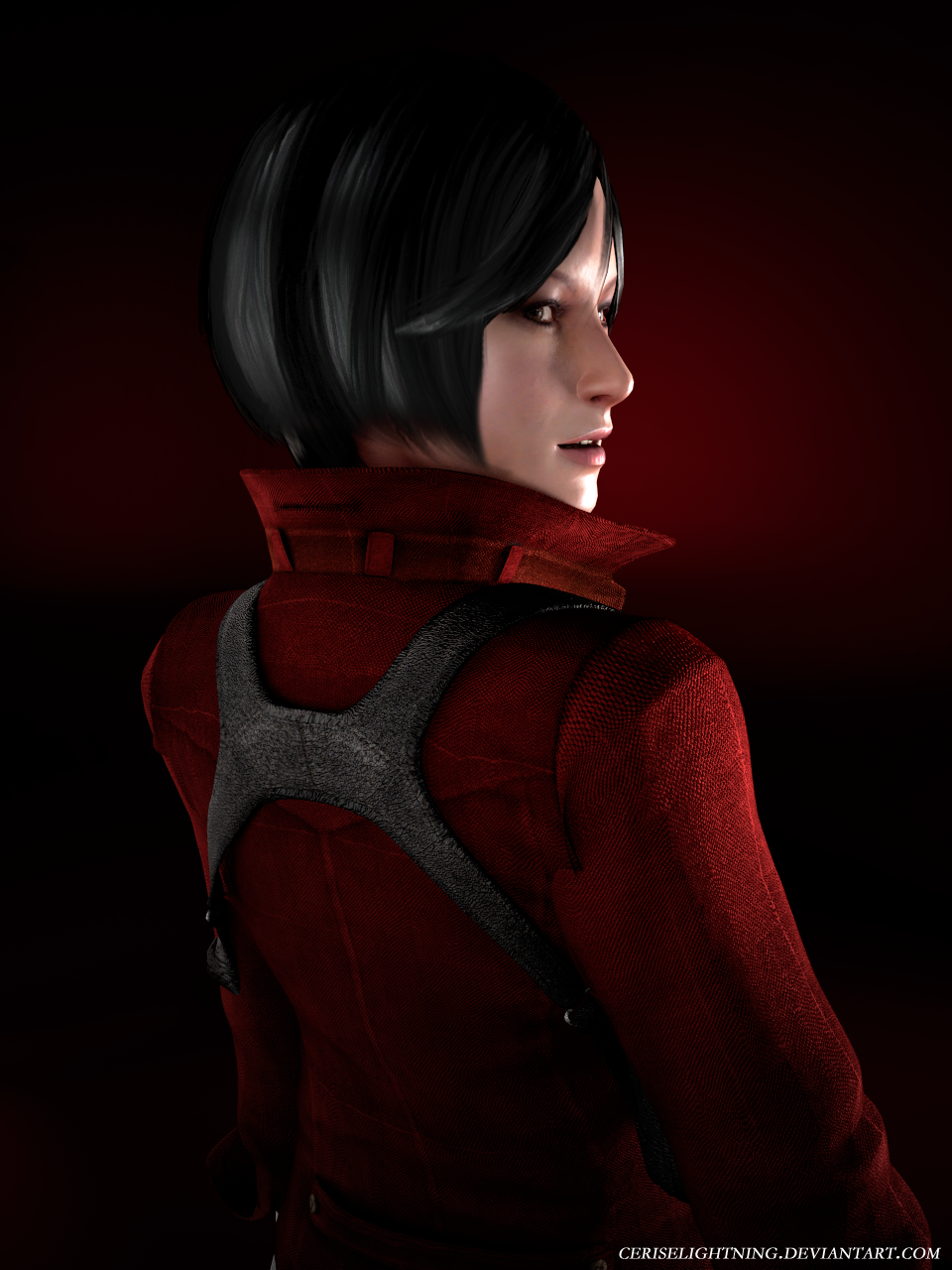 Ada Wong RE6 render by ceriselightning