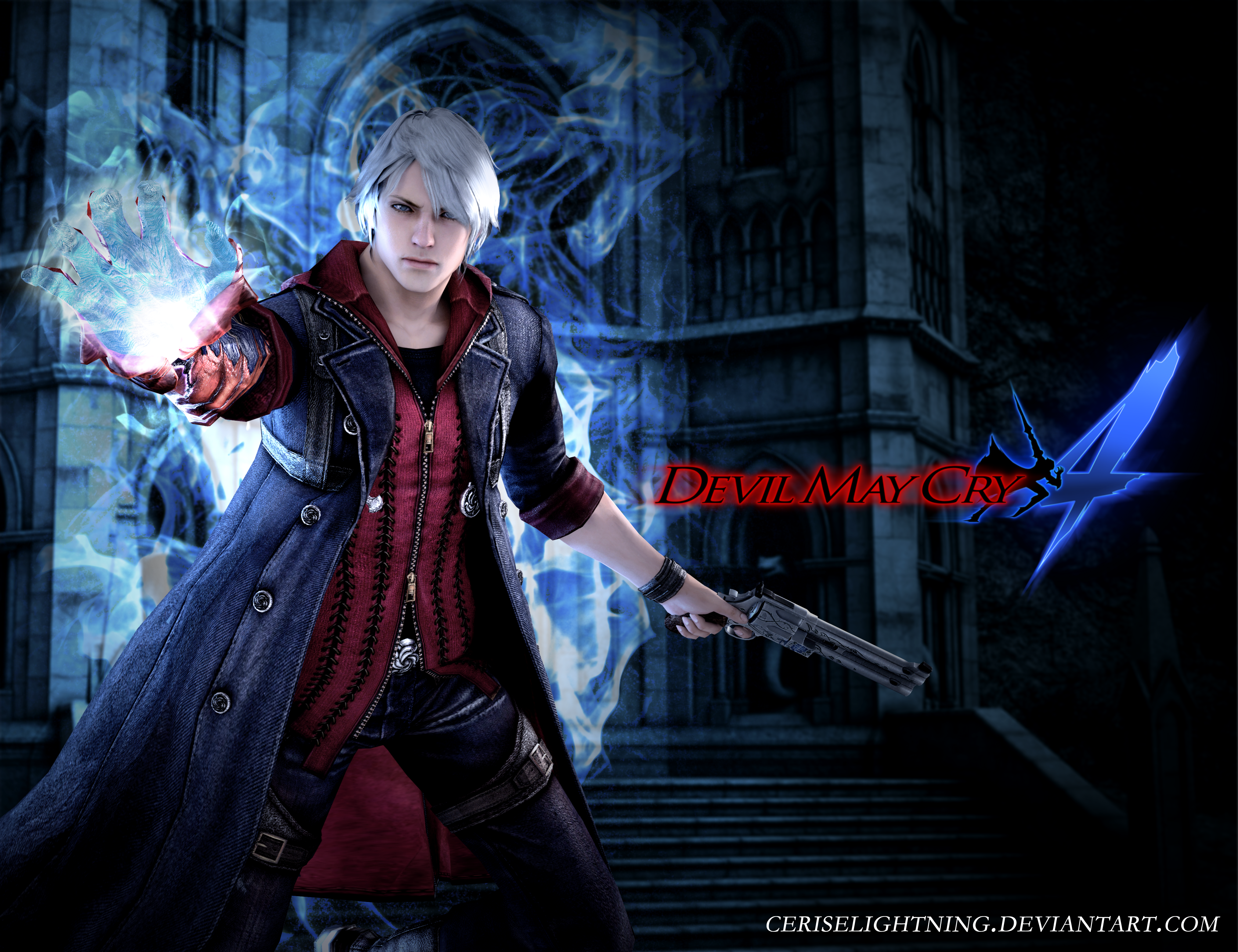Devil May Cry 4 Wallpaper Nero 1920x1080 By Fehru On
