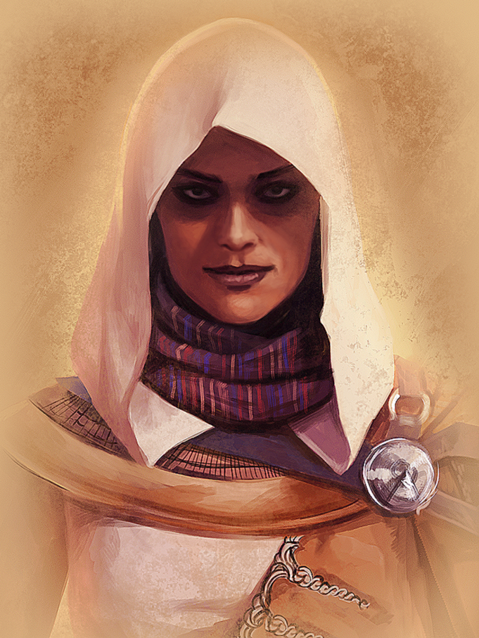 Aya Assassin S Creed Origins By Ceriselightning On Deviantart