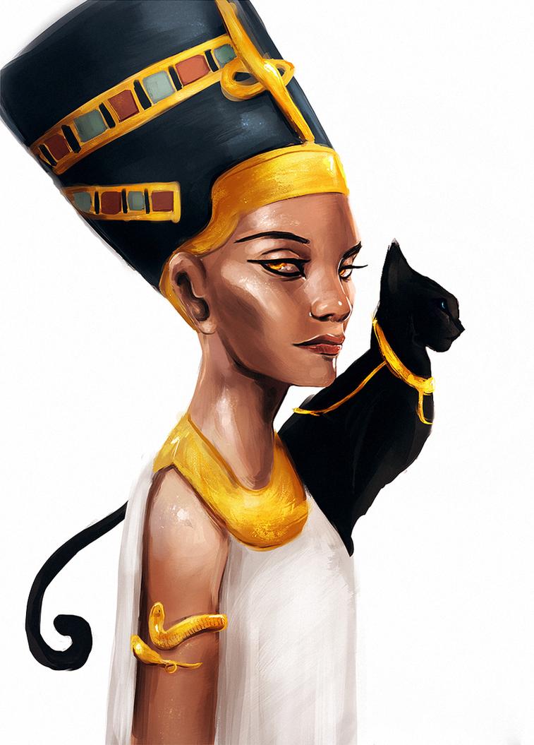 Nefertiti by FallonBeaumont