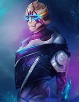 Vetra - Mass Effect Andromeda by whereisnovember