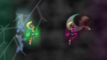 Zero vs Omega Zero - by StarBomber_4