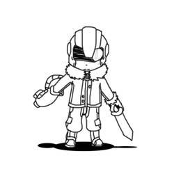 MOTHER 3 - Masked Man fanart