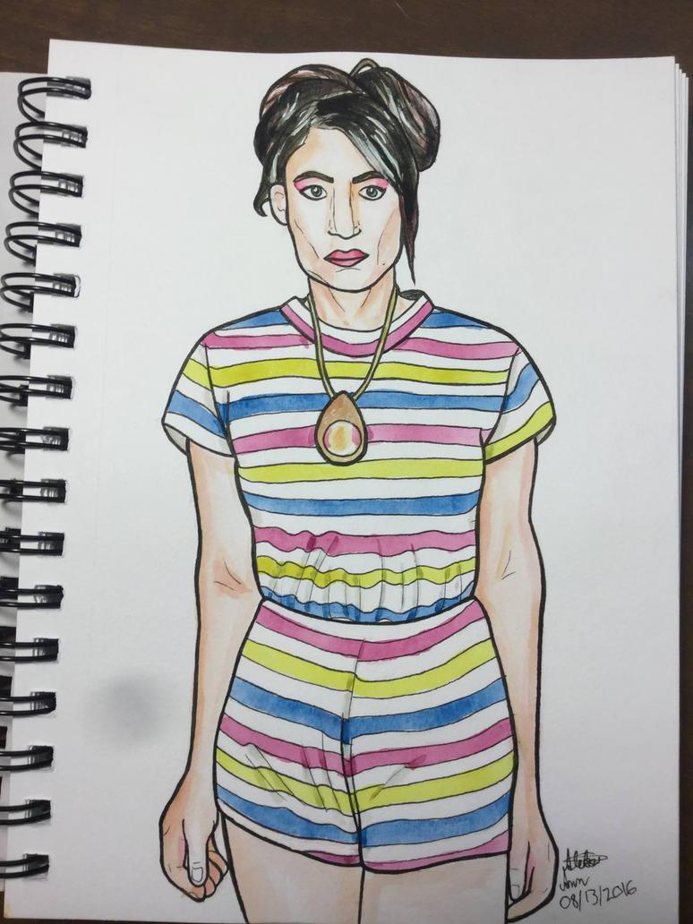 Kathleen Hanna by Aleksi-Ann