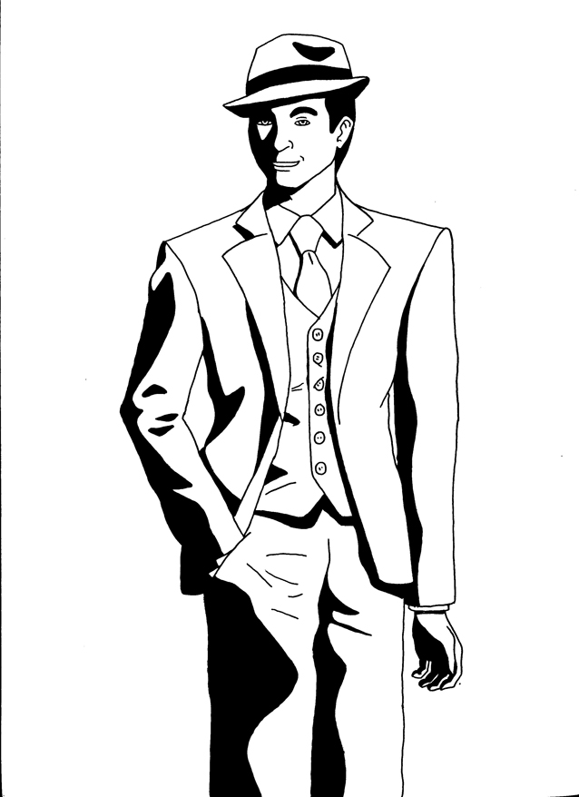 detective dick grayson by exhaseo