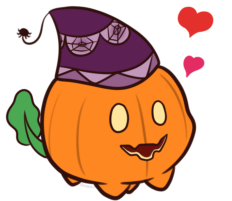 little quick fanart of Pumpkin      You can use for decorate you're profile page in deviantart ONLY (please prevent if you using <3)