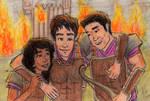 Hazel, Percy and Frank SoN