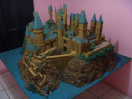 Hogwarts Castle Paper Model - Finished