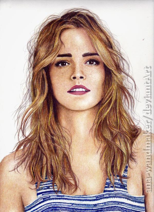 Emma Watson by ana-wandmaker