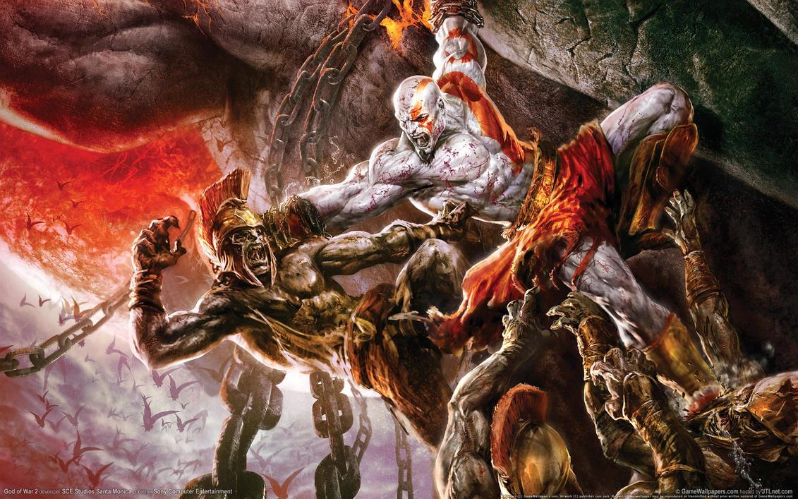 Wallpaper God Of War 2 04 1920x1200 By MekMagma