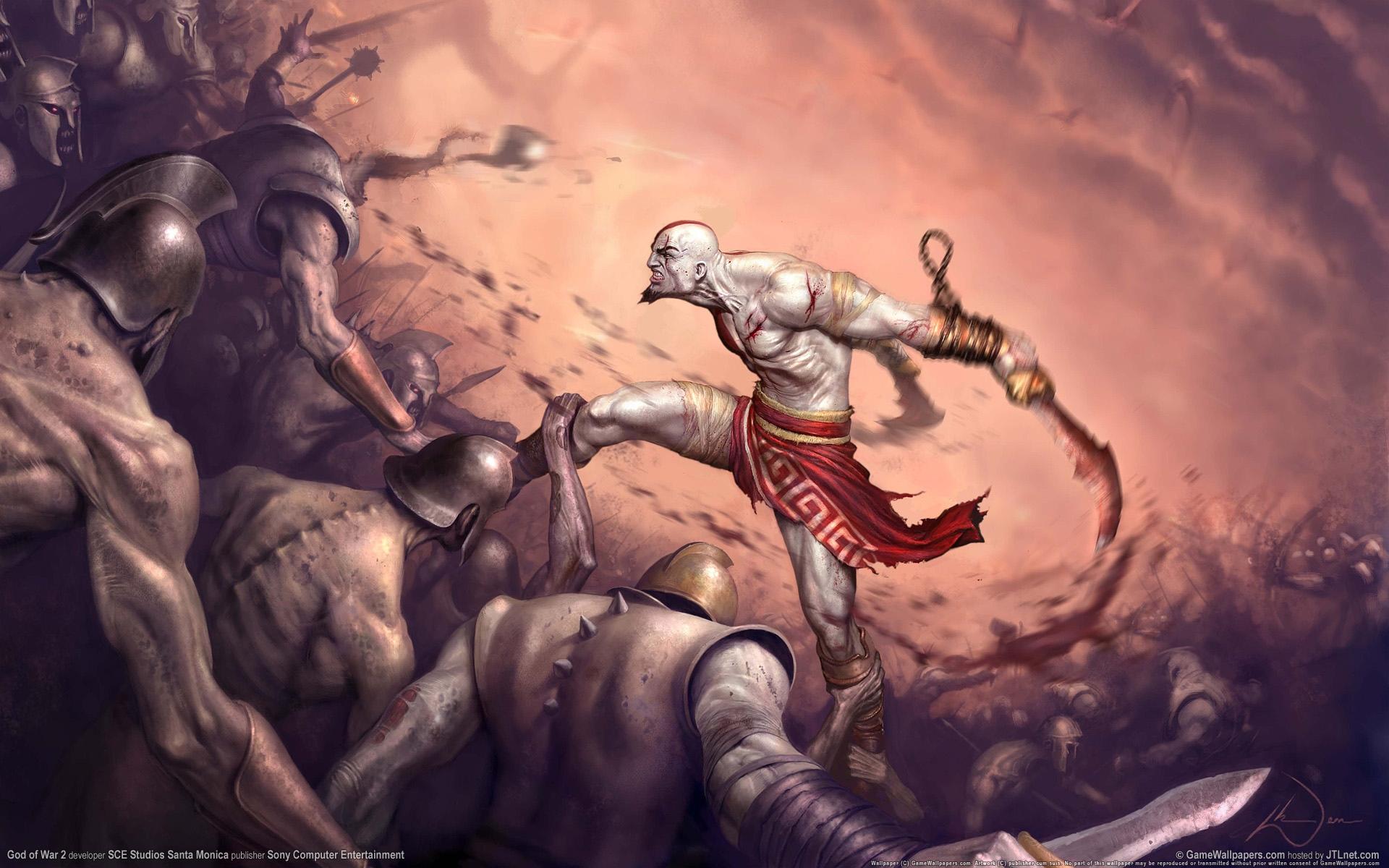 Wallpaper God Of War 2 14 1920x1200 By Mekmagma On Deviantart