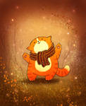 Cattober 11/31 -  Orange mood