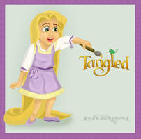 Little Rapunzel by Pridipdiyoren