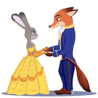R - Judy and Nick by Pridipdiyoren