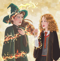 A wrinkle in time - commission by Pridipdiyoren