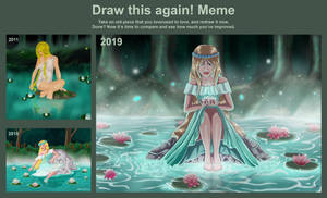Draw this again meme by Pridipdiyoren