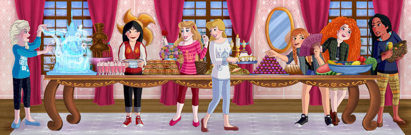 Princesses dinning room