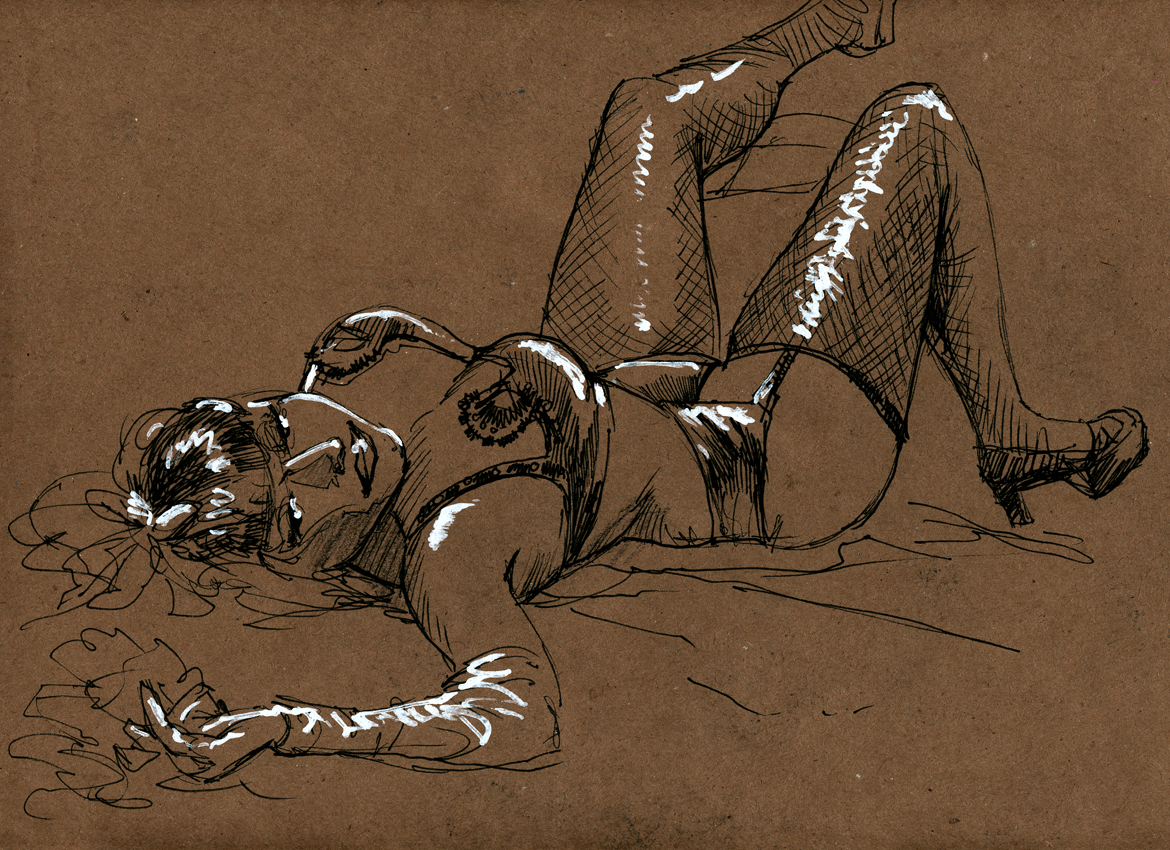 Dr.Sketchy CLE - FeverBlister1 by timswit