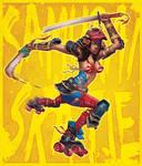 Samurai Skatie