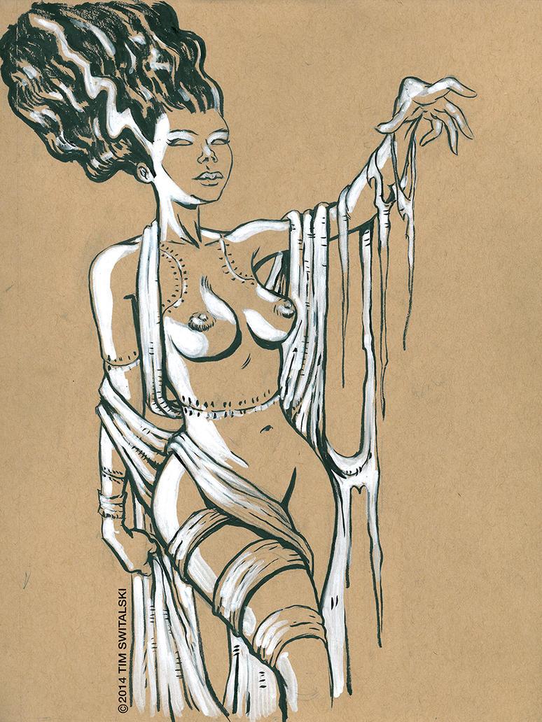 Bride Of Frankenstein by timswit
