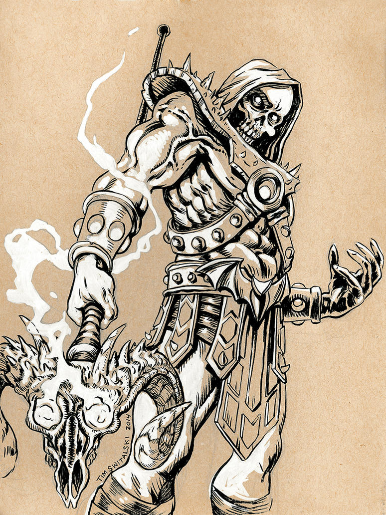 Skeletor by timswit