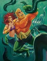 the Outrageous Aquaman by timswit