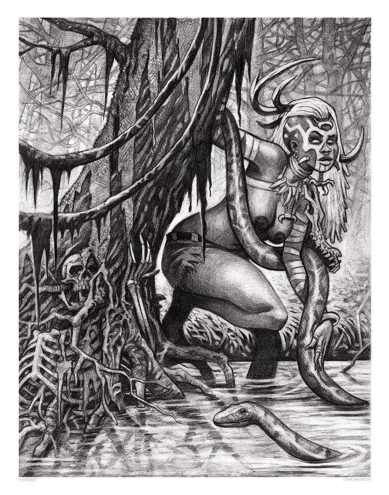 Swamp Witch by timswit
