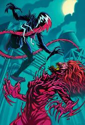 Gwenom vs. Carnage (Earth-65)