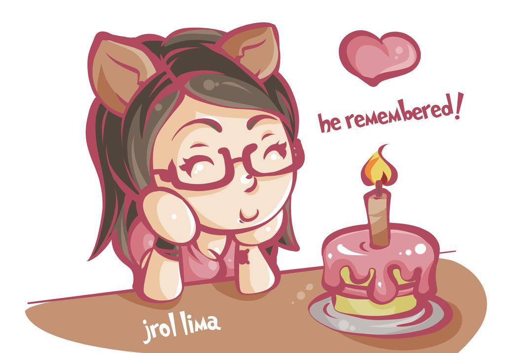 Chibi Foxy Birthday